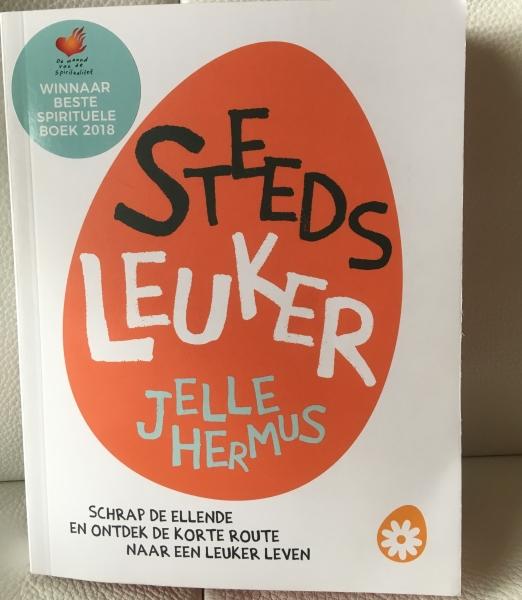 Steeds leuker van Jelle Hermus, durven te zeggen wat je denkt, lichter, vrijer, onafhankelijker, leuker
